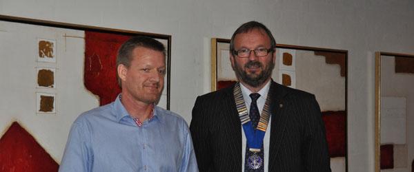 Nyt medlem til Sæby Rotary Klub….