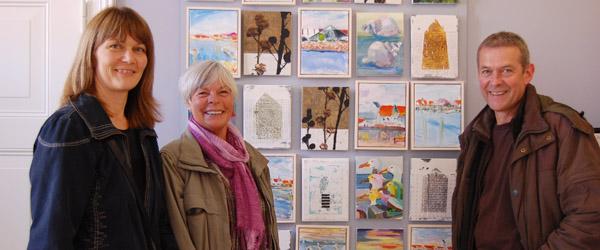 Sæby-kunstnere udstiller i nyt koncept på turistbureauet