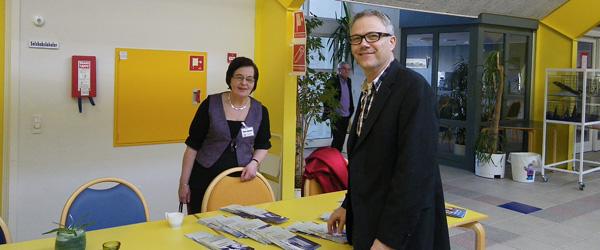 Skuespilleren Karsten Jansfort besøger Sæbygaard
