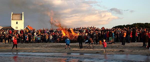Sct. Hans festen ved Sæby Å fejrer torsdag jubilæum