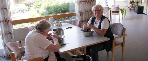 Så kom Valdemars dagen på Sæby ældrecenter