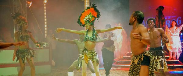 Cirkus Dannebrog gæster Sæby med en forrygende forestilling