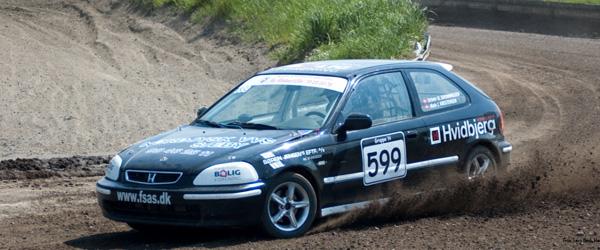 Tredje afdeling af DM i Rallycross på Nisseringen