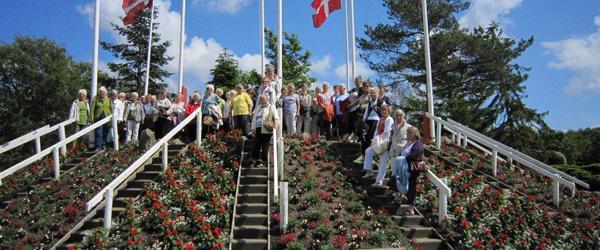 De aktive kvinder i Sæby har sommerferie