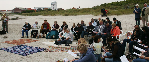 Strandgudstjeneste i Sæby denne søndag