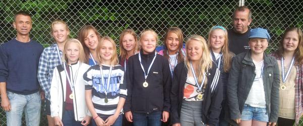 IF Skjolds U15 piger til Sommer Cup i Sulsted