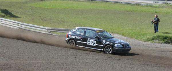 5. afdeling af DM i Rallycross, på Nysumbanen