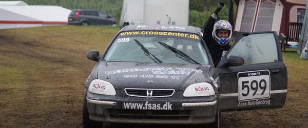 4 afdeling af DM i Rallycross, på Ørnedalen