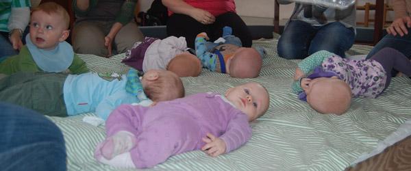 Hørby og Volstrup tilbyder Babysalmesang