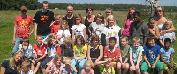 25 børn fra Sæbygårdskolen afsted på ferie