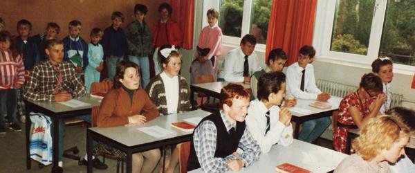 Stort 50-års skolejubilæum i Dybvad