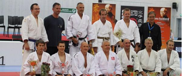 Judo: Guld og Bronze ved Nordiske Veteran Mesterskaber