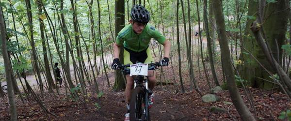 17-årig Sæbynit fik bronce ved DM i Mountain bike