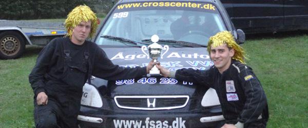 Sjette afdeling af DM i Rallycross på Løvelbanen