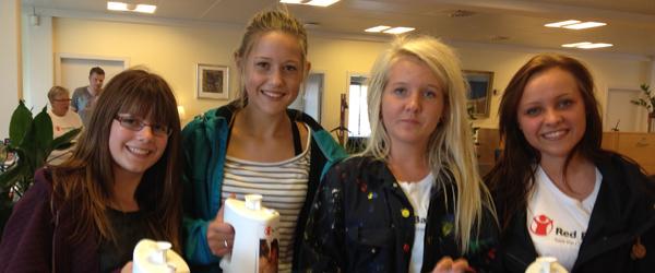 Red Barnet leverede flot resultat i Sæby og omegn