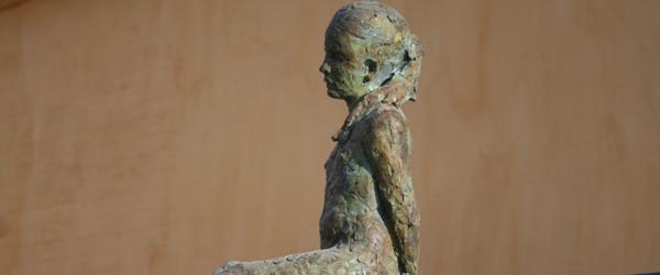 Malerier og bronzeskulpturer i Galleri Færch-P