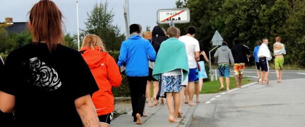 Elever flytter sig på Hørby Efterskole