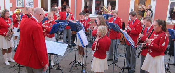 Jubilæum blev fejret med fuld musik