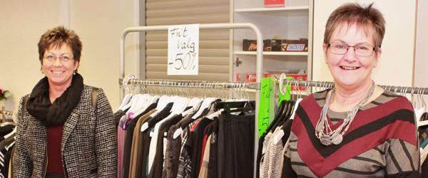 Modeshow fra Brunø i Hyggeklubben…