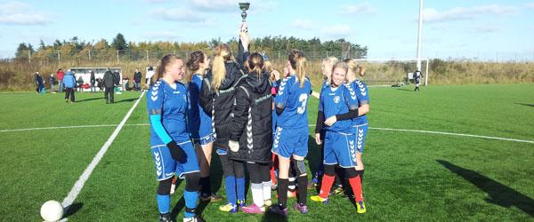 Skjolds U-16 vandt Dues Sportsreisers Høst Cup