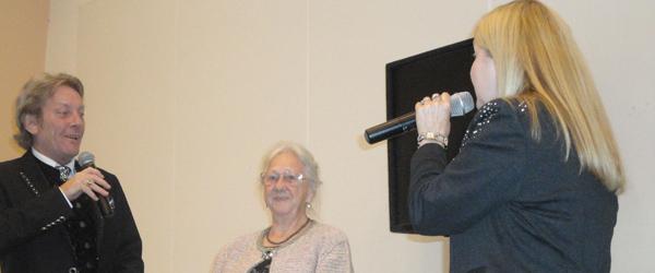 Kisser og Søren hyldede Else på hendes 80 årsdag