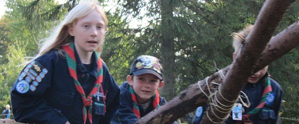 Sæbygaard Gruppens spejdere tog til Narnia