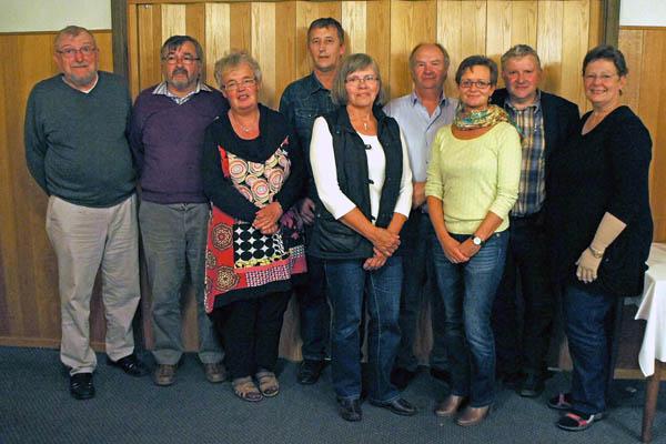 Nyt menighedsråd i Volstrup Sogn…