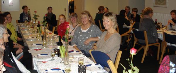 Hyggelig pigeaften i Spar Nord i Sæby
