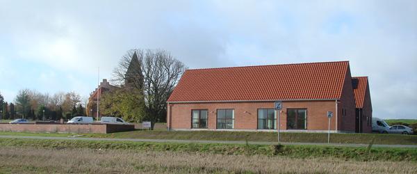 Lyngså kirkehus står klar til indvielse
