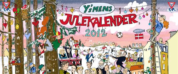 Sæby Y´s Men´s Club sælger igen i år julekalendere