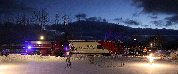 Brand i lejlighed på Mariested i Sæby