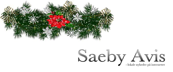 SaebyAvis.dk ønsker læsere og annoncører en glædelig jul