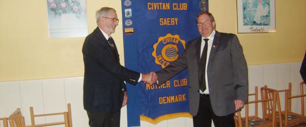 Civitan Club Sæby har holdt årsmøde