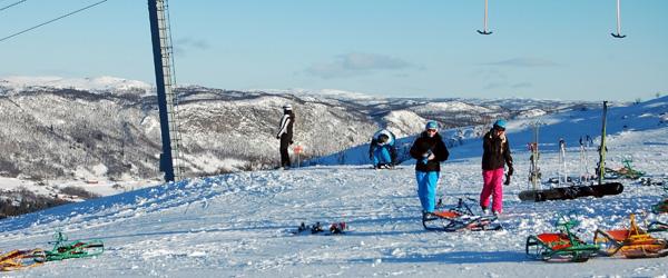 Hørby Efterskole på skitur i Norge
