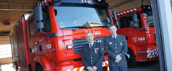 Stationsleder hos Falck har 25 års jubilæum