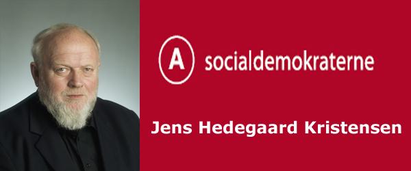 Jens Hedegaard (A): <br>Flot Projekt!