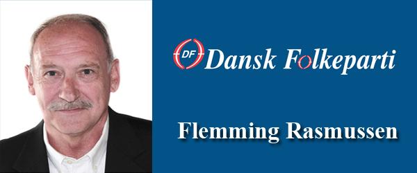 Flemming Rasmussen ny formand for Dansk Folkeparti
