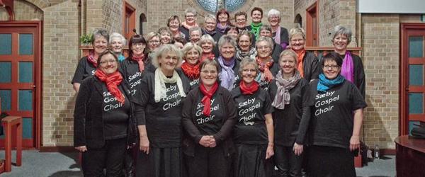 Gospelgudstjeneste i BaptistkirkenSæby