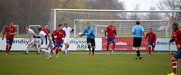 Skjold spillede uafgjort på Sparekassen Vendsyssel Arena