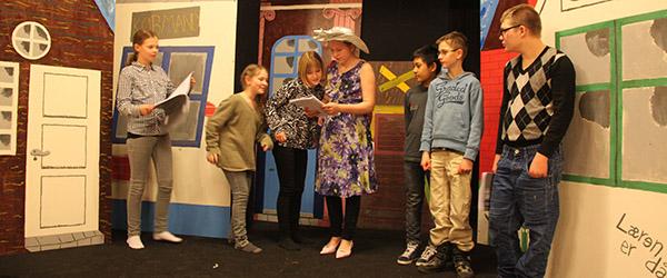 Forårsteater for børn og unge på Sæby scenen