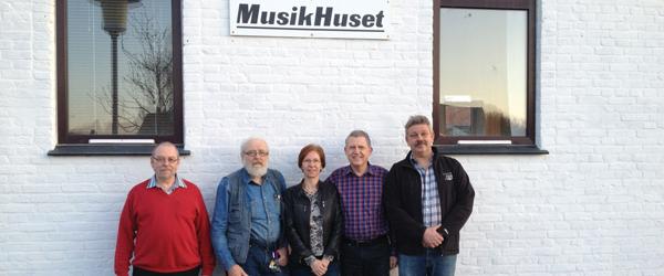 Ny bestyrelse valgt i Musikkorps Sæby