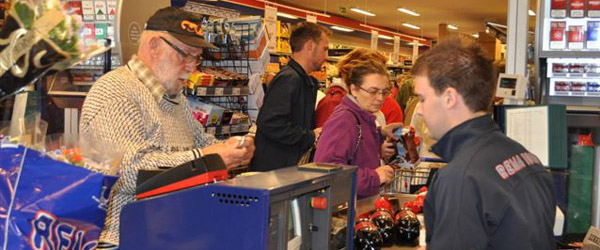 Mange foretager amok indkøb før helligdagene