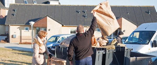 Sådan afhentes dit affald i forbindelse med påsken