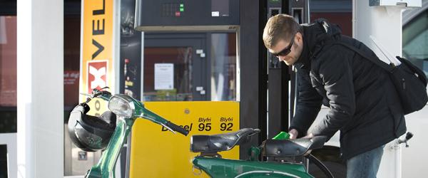 Ubemandede tankstationer er kommet for at blive i Sæby