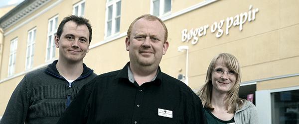 Bøger & papir i Sæby bliver til Bog & idé
