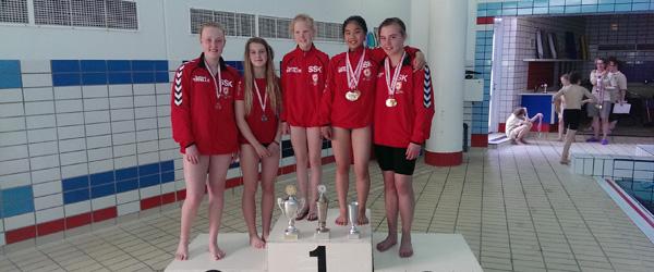 Svømning: Pokal Cup 2014 hos FFI Frederikshavn