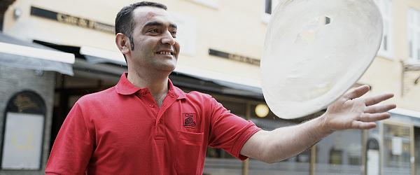 Sæby har fået et nyt pizzeria i gågaden
