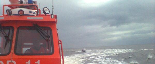 Redningsbåden fra Sæby måtte til Hals
