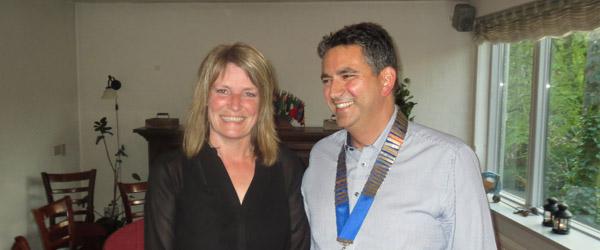 Borgmesterbesøg i Sæby Rotary Klub