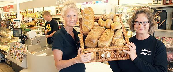 Frisk brød fra Hørby Bageri nu hos Spar i Sæby